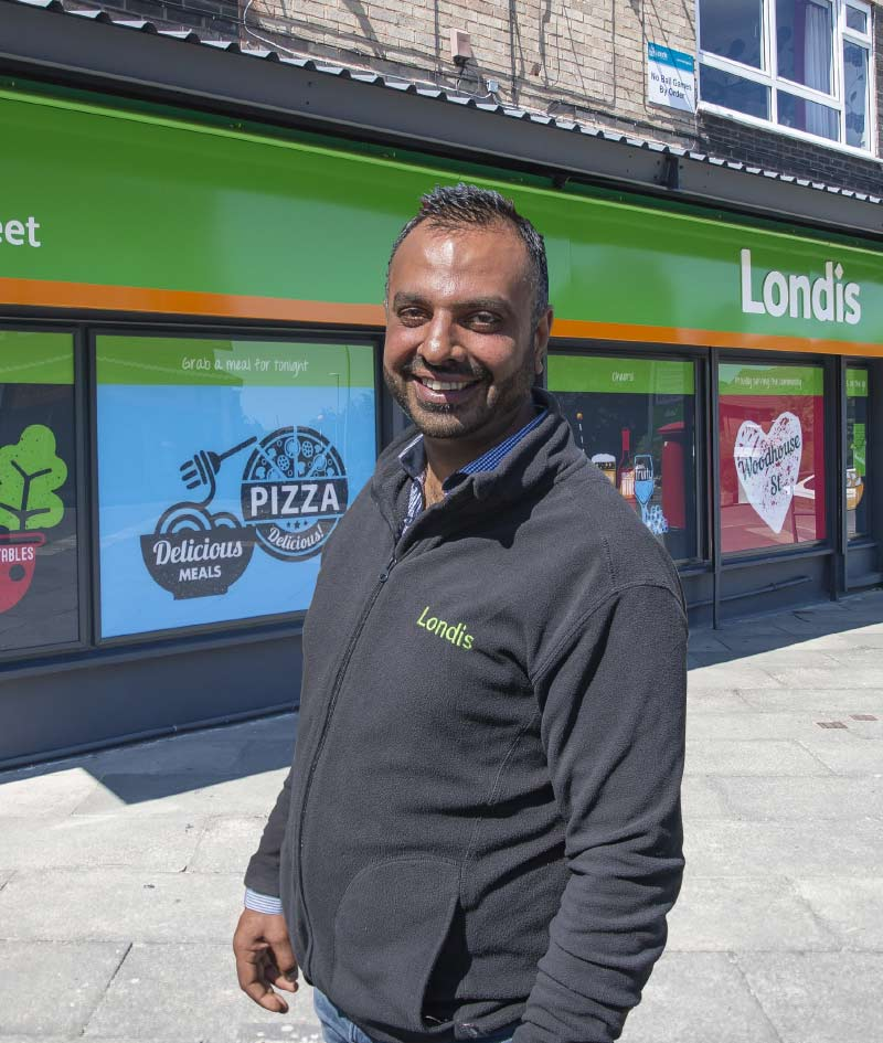 Pete Bhadal, Londis Woodhouse